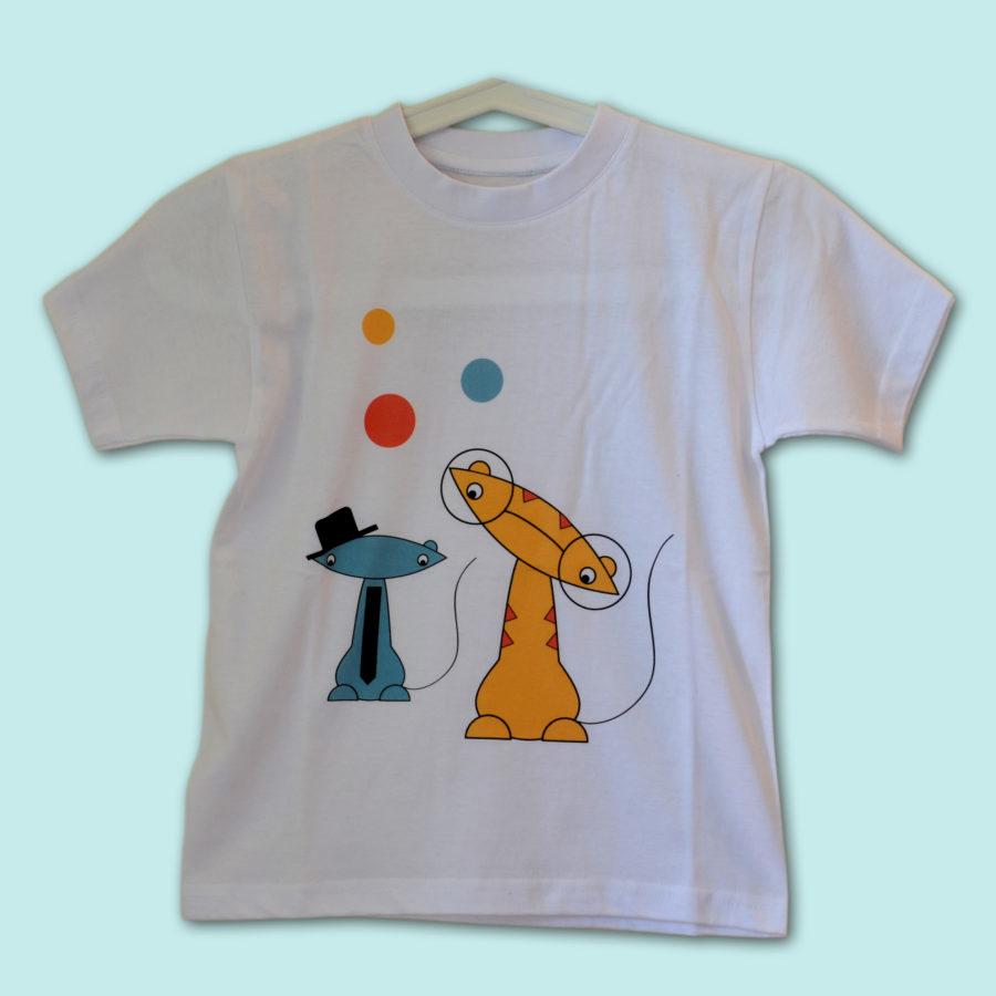 Koszulka dla dzieci Koty