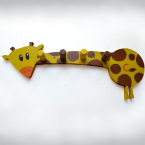 Giraffinia Handmade Children Clothes Hanger